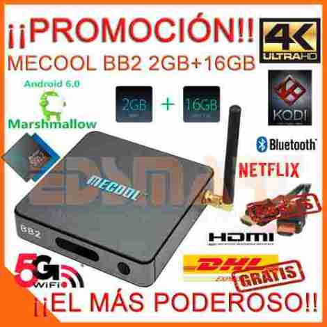 Android Tv Mecool Octa Core S912 2gb 16gb Marshmallow Minix en Web Electro