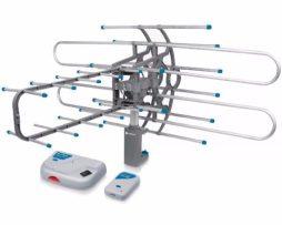 Antena Hdtv Amplificada Giratoria Control Remoto Tv Hd 48115