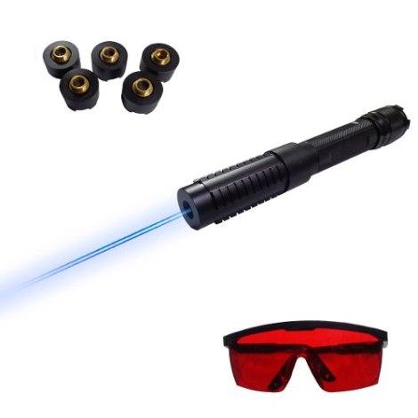 Apuntador Láser Azul 5000mw Revienta Globos Y Cigarros