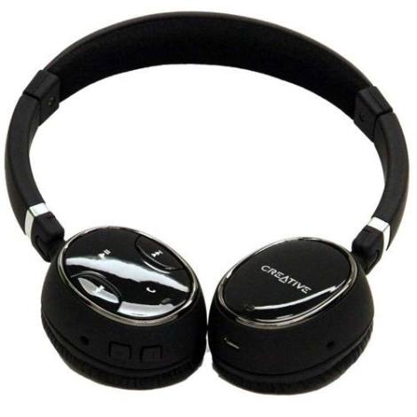 Audífonos Con Micrófono Bluetooth 2.1 Creative Wp-350 #m Fn4 en Web Electro