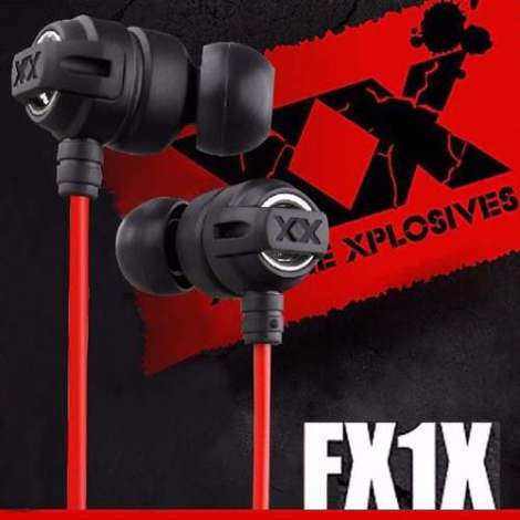 Audifonos Jvc Xtreme Xplosives Ha-fx1x Deep Bass en Web Electro