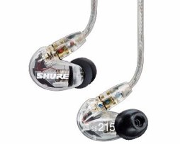 Audífonos Shure Se215 Translucido Monitor In Ear Envio Grati