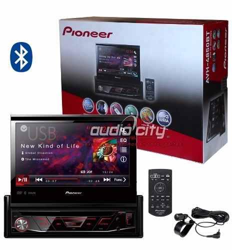 Autoestéreo Pantalla 1 Din Pioneer Avh-4850bt Dvd Bluetooth en Web Electro