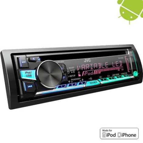 Autoestereos Jvc R760 Camaleon Android Iphone Usb Mp3 Cd Aux en Web Electro