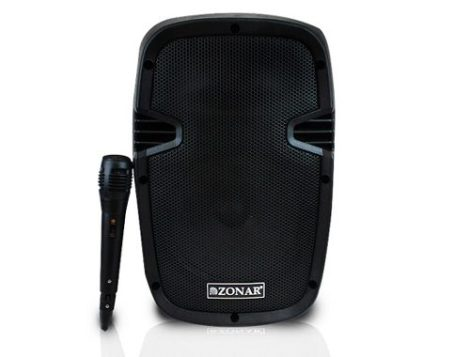 Bafle Bocina 8 Amplificado Recargable Bluetooth Y Microfono