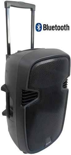 Bocina Amplificada Karaoke Bluetooth Guitarra Micrófono V-15 en Web Electro