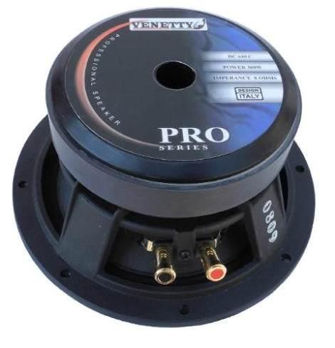 Bocina Venetty 6.5'' – 300w – 93.5db Bobina 1.75 Pro Dmm en Web Electro