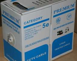 Cable Utp Cat5e 2 Pares   P/interiores 300 Mts B02