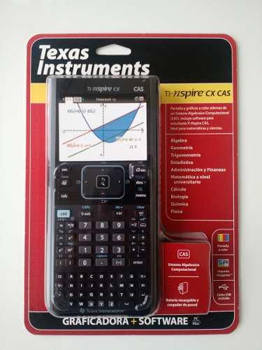 Calculadora Texas Instruments T-nspire Cx Cas en Web Electro