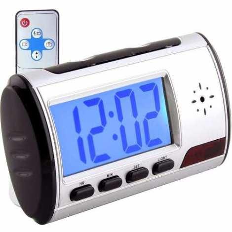 Cámara Espía Alarma Reloj Despertador 32 Gb Hd Mini Con Caja en Web Electro