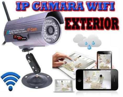 Camara Ip Wifi Exteriores Contra Agua Video Vigilancia Sony en Web Electro