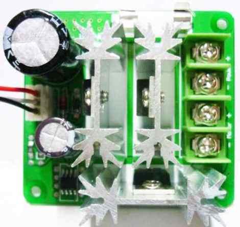 Control Pwm 16mhz Motor Dc 15a 6-90v Arduino Robot Pic Avr