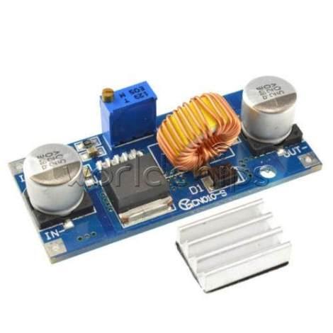 Convertidor Dc-dc Buck Ajustable Con Xl4015 De 5a 4-38v