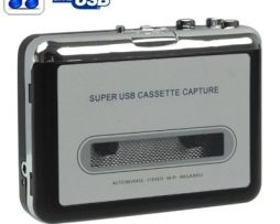 Convertidor De Cassette A Mp3 Por Usb Y Reproductor D Música