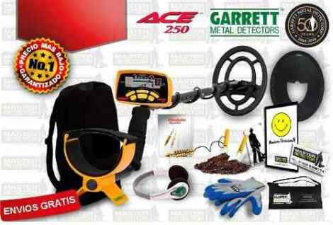 Detector De Metales Y Tesoros Garrett Ace 250 Envio Gratis en Web Electro