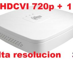 Dvr Grabador Video Alta Resolucion Hdcvi 720p 4 Canales 1 Ip