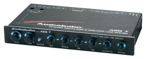Ecualizador Grafico Audiobahn Aeq7 4 Bandas 8 Volts Rms en Web Electro