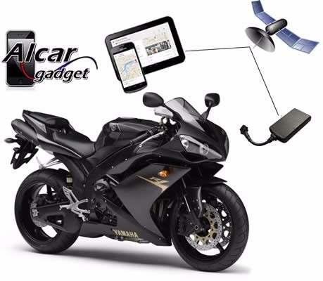 Gps Tracker Localizador Inmovilizador Moto Plataforma App.