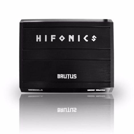 Hifonics Brutus Br1200.4 Clase Ab 4 Canales 1200w P Bocinas en Web Electro