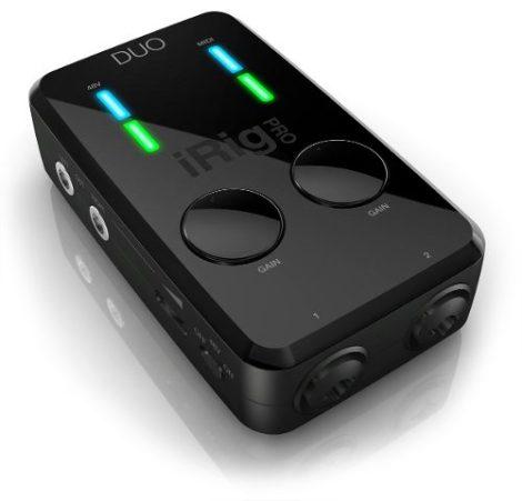 Irig Pro Duo Interface Audio Usb Iphone Ipad Android 24 Bits en Web Electro