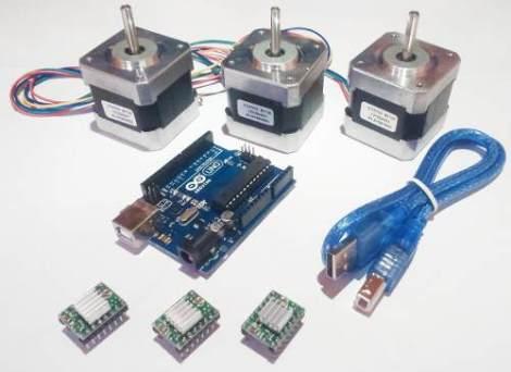 Kit Cnc Nema 17 Arduino Uno R3