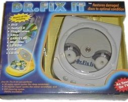 Kit Con Reparador Limpiador Automatico De Cds Y Dvds Bluray en Web Electro