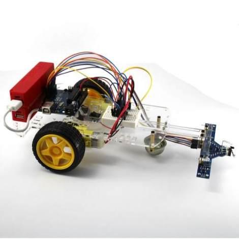 Kit Para Armar Robot Seguidor De Línea Para Arduino + Código en Web Electro