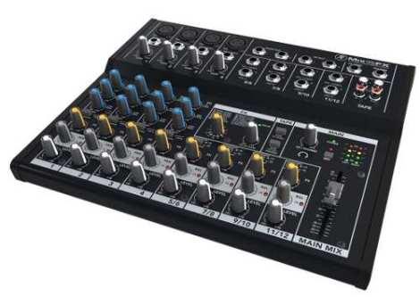 Mezcladora Mackie Mix12fx en Web Electro