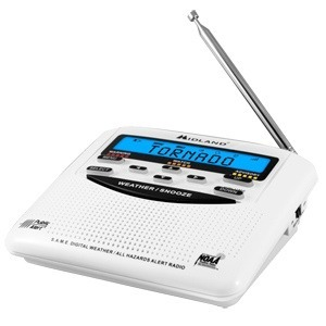 Midland Wr120 Radio Sistema Alerta Sismica Meteorologica 120