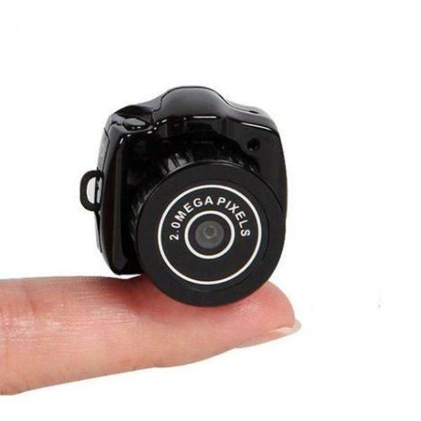 Mini Camara Espia Dv Miniatura Video Con Soporte Micro Sd en Web Electro