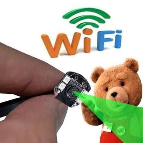 Mini Camara Espia Wifi Fullhd Vision Nocturna Android Iphone