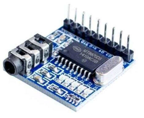 Modulo Decodificador Dtmf Mt8870 Refactro en Web Electro