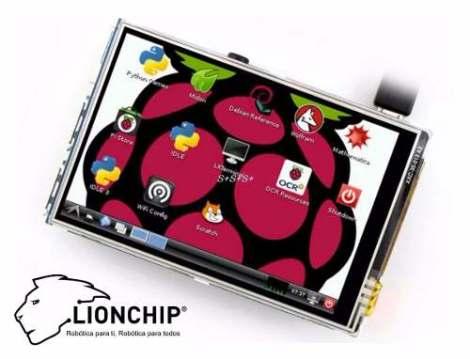 Pantalla Tactil 3.5 Pulgadas Raspberry Pi B 2 3 Touch Screen