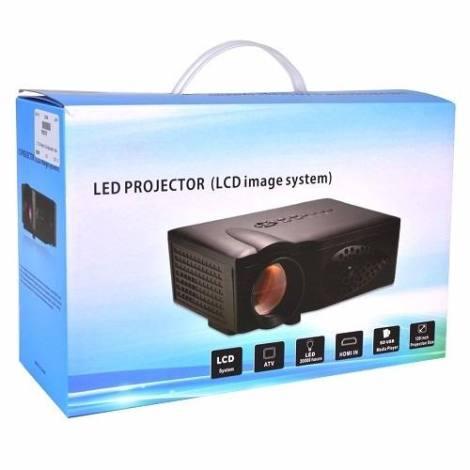 Proyector Led Multimedia Hdmi Usb Vga 1800lumen 45-125 Plg en Web Electro