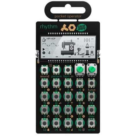Sintetizador De Bolsillo Pocket Operator Po-12 Rhythm en Web Electro