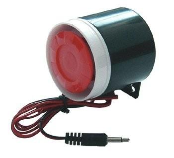 Sirena Alambrica  Para Alarma 433 Htz 120db en Web Electro