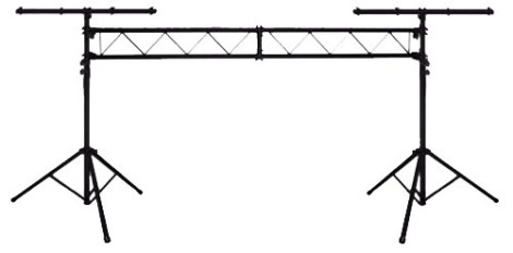 Stand O Porteria P/ Luces Profesionales 120kg 3.5mt Uso Rudo
