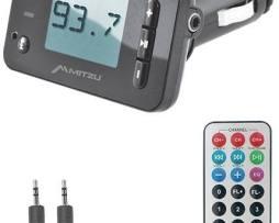 Transmisor Fm Con Bluetooth Manos Libres Usb Sd Mitzu