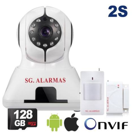 Alarma – Cámara Ip Wifi P2p Hd Casa Negocio Bodega X Celular en Web Electro