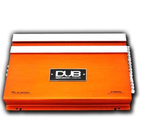 Amplificador Dub By Audiobahn 2400w 4ch Para Woofers Bocinas
