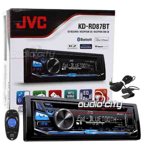 Autoestereo 1 Din Jvc Kd-rd87bt Android Ipod/iphone Bluetoot en Web Electro