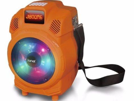 Bocina Amplificada 6  Joinet Ideal Para Fiestas Luz Led en Web Electro