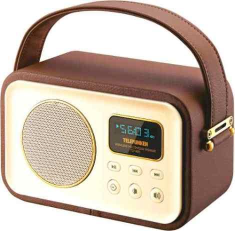 Bocina Bluetooth Recargable Telefunken Tlf-a93 en Web Electro