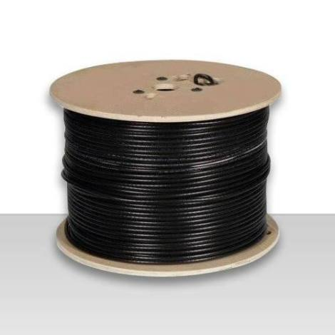 Cable Coaxial Rg-6+pinzas+conectores+envio Gratis.