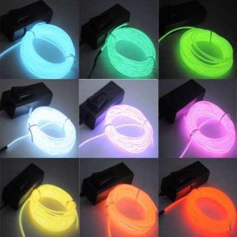 Cable Electroluminiscente en Web Electro
