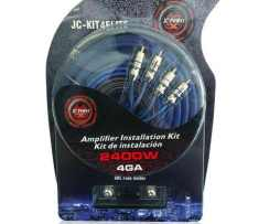 Cables Kit Instalacion Jc Power Calibre 4 Jc-kit4elite 2400w