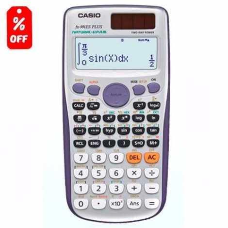 Calculadora Científica Casio Fx991es Plus – 417 Funciones