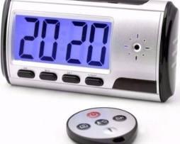 Camara Espia Sony Oculta Alarma Reloj Despertador 32gb Te212