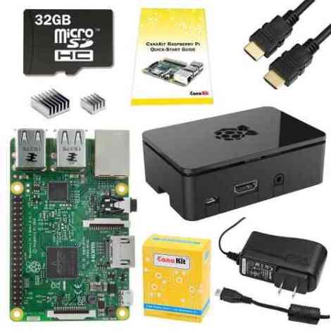 Canakit Raspberry Pi 3 B  Edicion 32 Gb Robotica Electronica en Web Electro