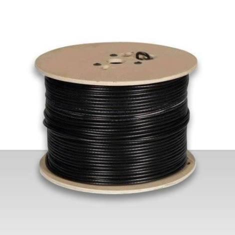 Carrete De Cable Coaxial Importado Usa 100 Mts Con O Singuia